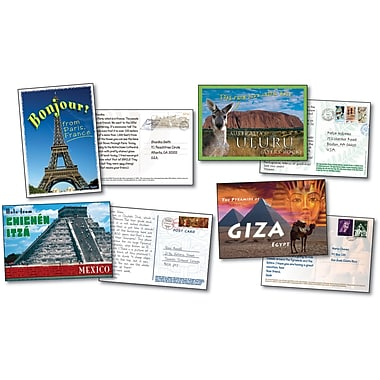 Carson-Dellosa Postcards from Around the World Bulletin Board Set