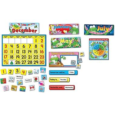 Carson-Dellosa Frog Calendar Set Bulletin Board Set