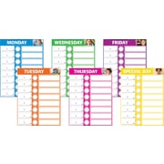 Scholastic Classroom Management, Daily Schedule Bulletin Board