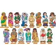 Scholastic World Cultures, Around the World Kids! Bulletin Board