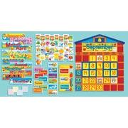 Scholastic All-In-One Schoolhouse Calendar Bulletin Board