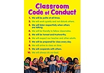 Scholastic Teacher Resources, Classroom Code of Conduct Chart