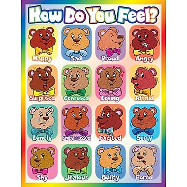 Scholastic Early Learning, How Do You Feel? Chart