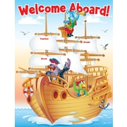 Scholastic Sea Adventure Welcome Chart