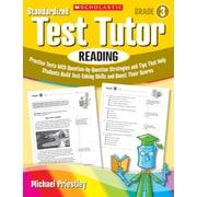 Scholastic Standardized Test Tutor: Reading: Grade 3