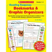 Scholastic Reading Response Bookmarks & Graphic Organizers
