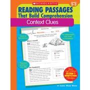 Scholastic Reading Passages That Build Comprehension: Context Clues