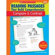 Scholastic Reading Passages That Build Comprehension: Compare & Contrast