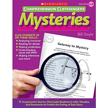 Scholastic Comprehension Cliffhangers: Mysteries
