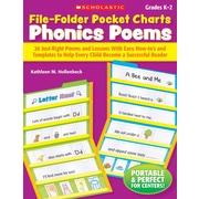 Scholastic File-Folder Pocket Charts: Phonics Poems