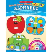 Scholastic Turn-to-Learn Wheels in Color: Alphabet