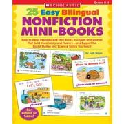 Scholastic 25 Easy Bilingual Nonfiction Mini-Books