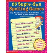 Scholastic 25 Super-Fun Spelling Games