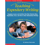 Scholastic Step-By-Step Strategies for Teaching Expository Writing
