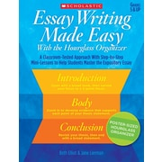 Scholastic Essay Writing Made Easy With the Hourglass Organizer