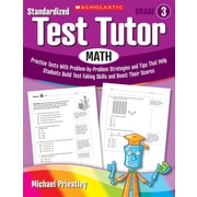 Scholastic Standardized Test Tutor: Reading: Grade 6