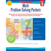Scholastic Math Problem-Solving Packets: Grade 3