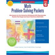 Scholastic Math Problem-Solving Packets: Grade 6