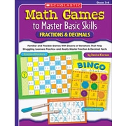 Scholastic Math Games to Master Basic Skills: Fractions & Decimals