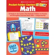 Scholastic Pocket-Folder Centers in Color: Math Grades 2-3