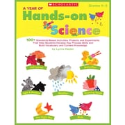 Scholastic A Year of Hands-on Science