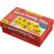 Scholastic Little Red Tool Box: Word Family Tiles