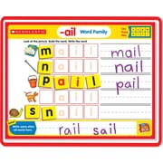 Scholastic Little Red Tool Box: Magnetic Mats: Word Families