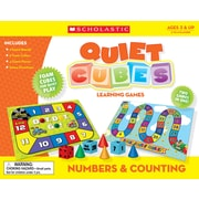 Scholastic Numbers & Counting Quiet Cubes Learning Games