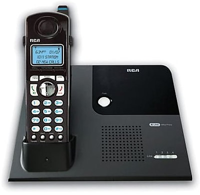 RCA 4-Line Cordless Telephone, With 1 Handset