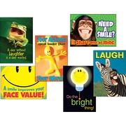 "TREND® ARGUS® Poster Combo Pack, 19"" x 13 3/8"", ""Attitude & Smiles"", 6/Pack (TA67920)"