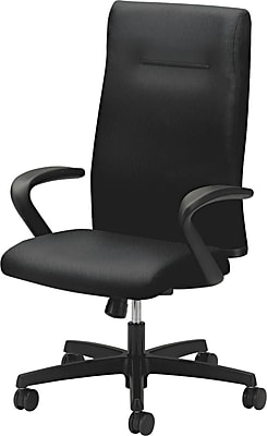 HON® HONIE102NT10 Ignition® Fabric Executive High-Back Chair, Black NEXT2017