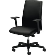 HON Ignition Fabric Computer and Desk Office Chair, Adjustable Arms, Black (IW104NT10.COM) NEXT2017