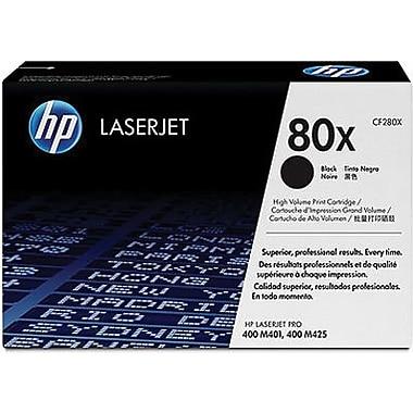 HP 80X (CF280X) Cartouche de toner HP LaserJet noir à rendement élevé d'origine