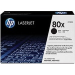 HP 80X (CF280X) Black High Yield Original LaserJet Toner Cartridge