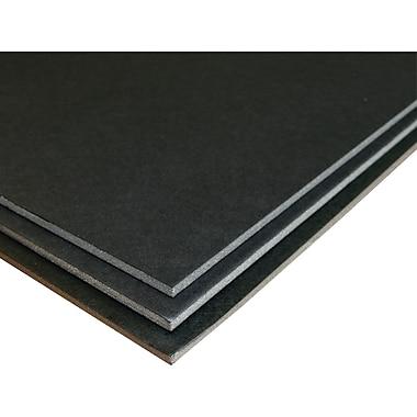 Geographics - Panneau de mousse, 20 po x 30 po, noir, paq./3