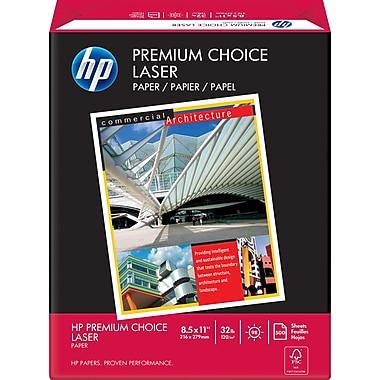 HP® - Papier Laser Jet Premium Choice certifié FSC, 32 lb, 8 1/2 po x 11 po, rame