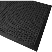 "Guardian WaterGuard Polypropylene Indoor/Outdoor Scraper Mat, 120""L x 36""W, Charcoal"