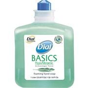 Dial® Basics Foaming Handwash Soap, Honeysuckle, Refill, 1000 ml.