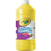 Crayola® Artista II® Washable Tempera Paint, 32 oz, Yellow, Each (543132034)