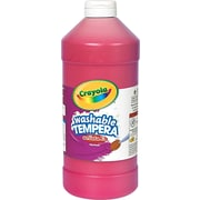 Crayola® Artista II® Washable Tempera Paint, 32 oz, Red, Each (543132038)