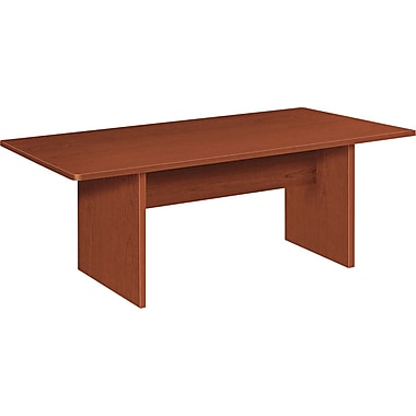 Conference room tables buy conference table sets staples hon bl laminate series rectangular conference table medium cherry keyboard keysfo Choice Image