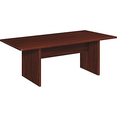 basyx by HON 72'' Rectangular Conference Table, Mahogany (HBLC72RNN.COM)