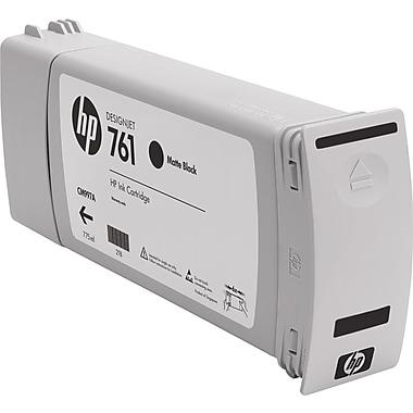 HP 761 Black Matte Ink Cartridge (CM997A), Extra High Yield