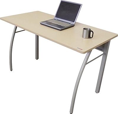 Linea Italia® Steel Base Trento Line Rectangular Desk, 29 1/2