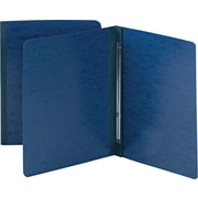 Smead Side Opening Pressboard Report Cover, Prong Fastener, Letter, , Dark Blue