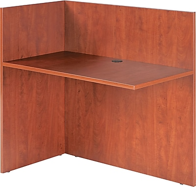 Alera® Valencia Woodgrain Laminate Reversible Reception Return, 41 1/2