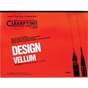"Chartpak® Clearprint® Design Vellum Paper; Translucent, 24""(W) x 18""(L), 50 Sheets"