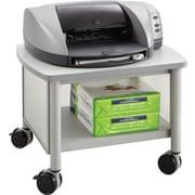 "Safco® Impromptu™ 14 1/2""H x 20""W x 16 1/2""D Under Table Printer Stand, Gray"