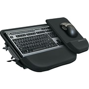 "Fellowes ® Tilt 'N Slide Keyboard Manager, Black, 8 3/4""(W) x 11""(D) Mouse Tray"