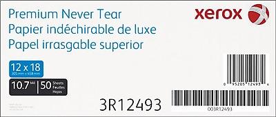 "Xerox® Revolution™ Premium Never Tear™, 10.7 mil, 12"" x 18"", Box"